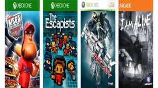 Octobers'  Games with Gold announced