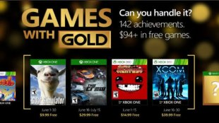 Games with Gold For June 2016