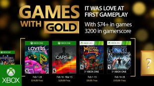 Games with Gold for February 2017