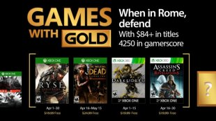 Games with Gold for April 2017 Announced