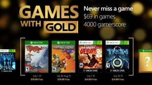 Games with Gold For July 2016